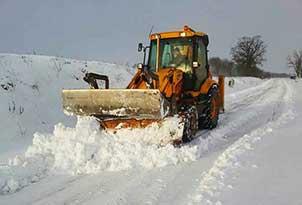 odśnieżanie dachów, posesji, parkingów, wywóz śniegu